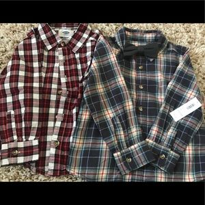 Bundle of Old Navy Long-Sleeved Button Down Shirts